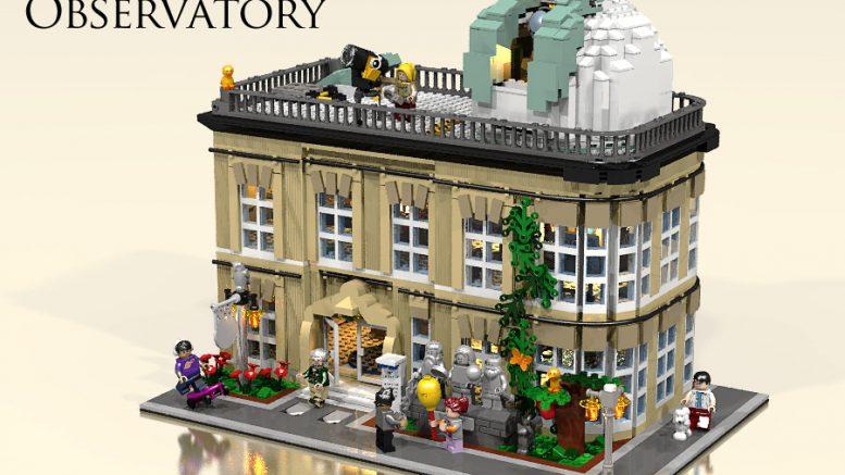 Lego Ideas: Lego City Sky Observatory – World Wide Brick