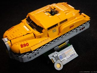Lego 5th Element Taxi