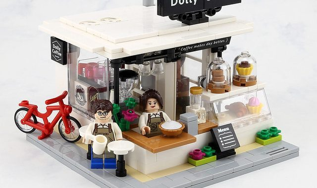 Lego Dolly Coffe Modulari moc