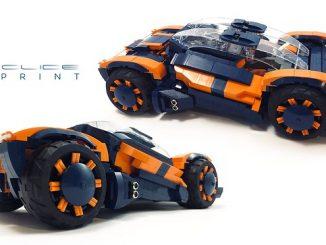 Lego moc car supercar