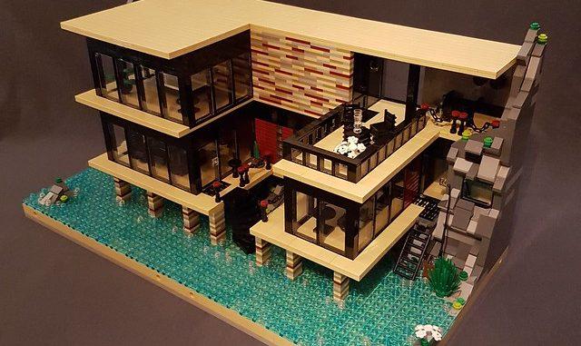 Lego House building mod modular
