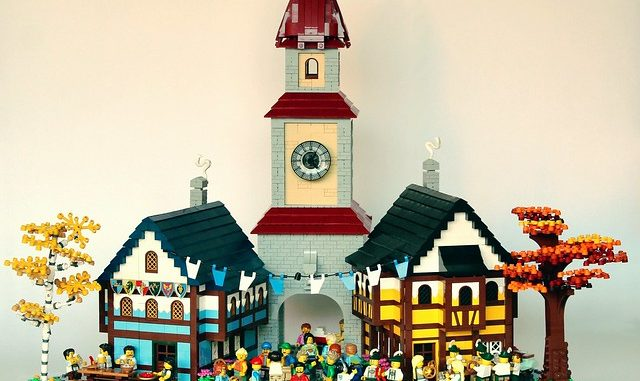 Oktoberfest in Bavaria Lego Diorama