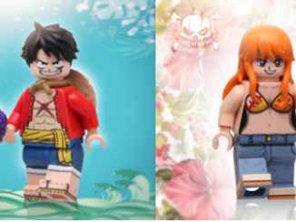 One Piece Lego minifigures