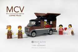 Mini Commercial Vehicle - Coffee truck