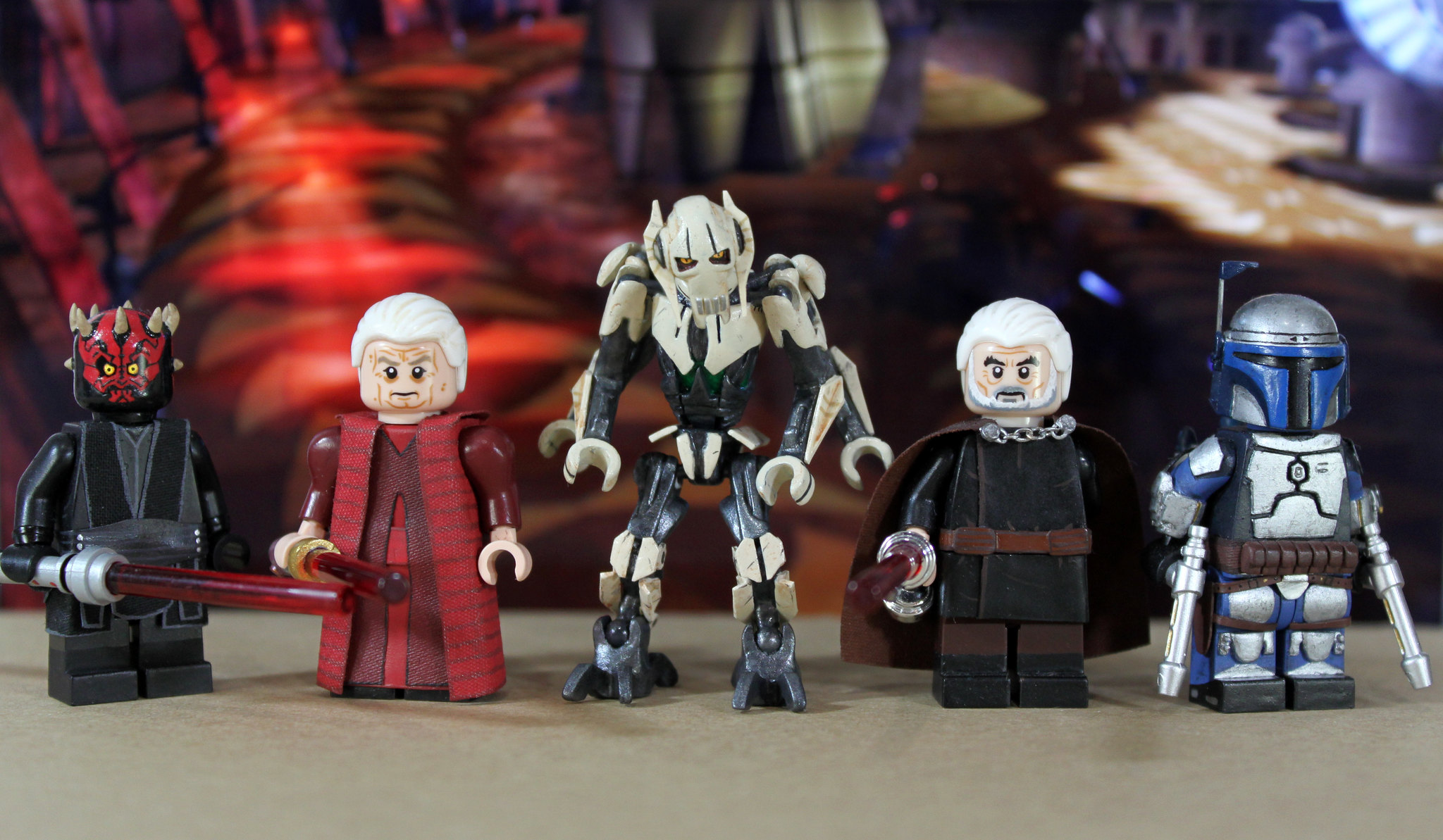 Star Wars:  Prequel Trilogy Villains