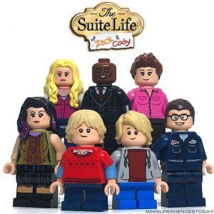 The Suite Life of Zack & Cody mini figures