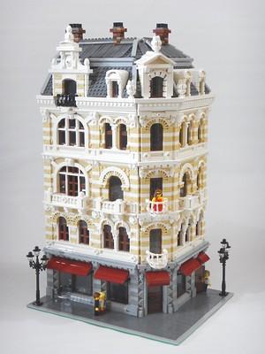 Belle Époche: building in Bruxelles