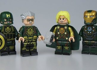 Lego Hydra Outside Brick Custom Minifigures