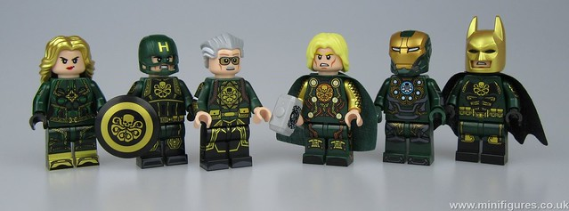 Lego Hydra Outside Brick Custom Minifigures