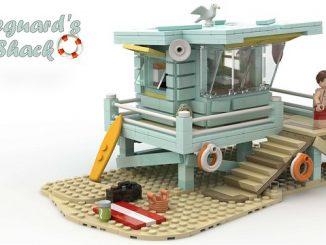 Lego Lifeguard's Shack