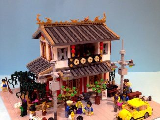 Chinese Dim Sum Restaurant Lego Modular