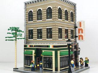 Lego irish pub modular building