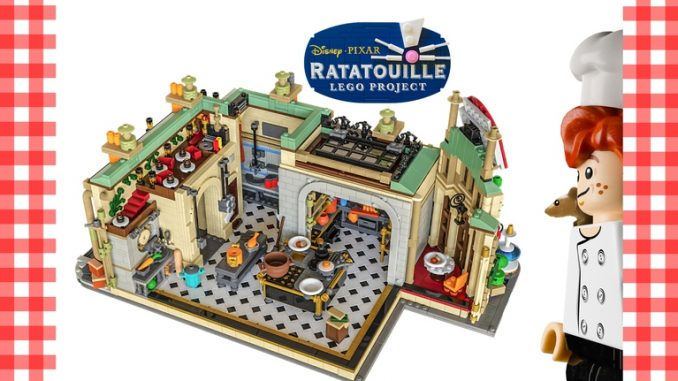 Ratatouille Lego Ideas