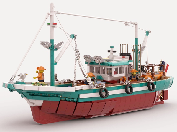 The Great Fishing Boat